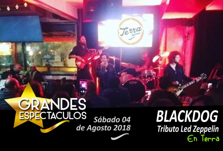 Terra Restobar - BLACKDOG - Tributo Led Zeppelin